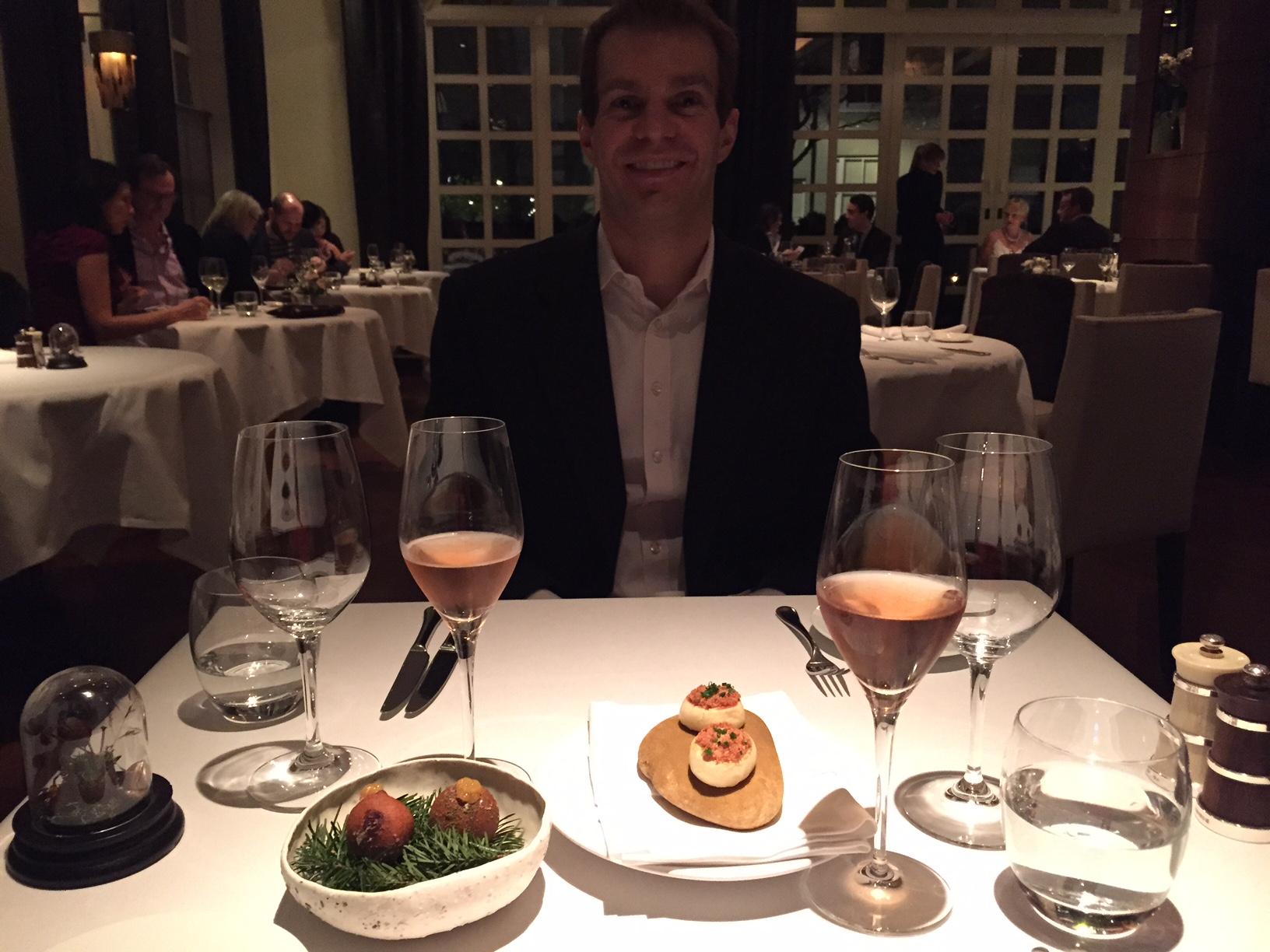 Ben at The Ledbury