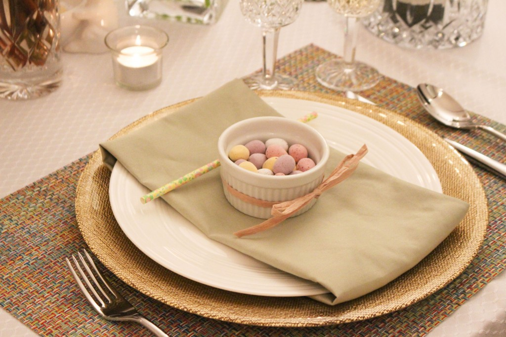 Modern Pineapple Place Setting Easter