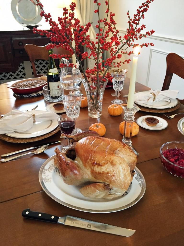 Kristen Moore Thanksgiving Table